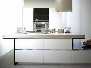 Küche Beton Holz : betonarbeitsplatten pro und contra beton f r die k che ~ Markanthonyermac.com Haus und Dekorationen