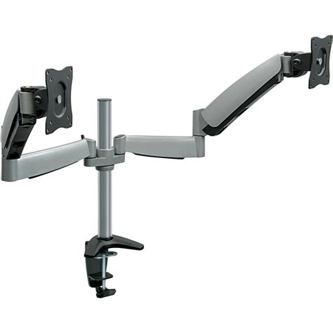 mount it height adjustable monitor desk mount with dual mi 7c24