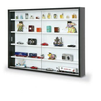 new display cabinet modern storage shelves wall glass