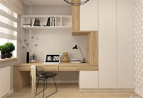 Home Minimalist : 37 Minimalist Home Offices That Sport Simple But Stylish