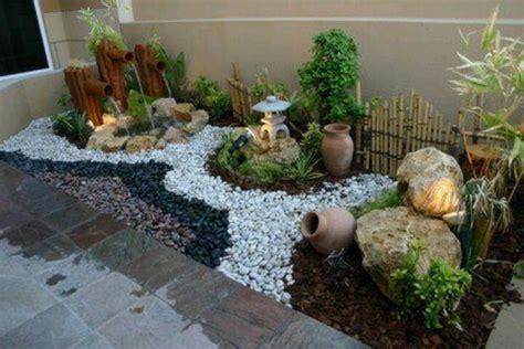 Diseño De Jardines Con Piedras  Decoración De Interiores