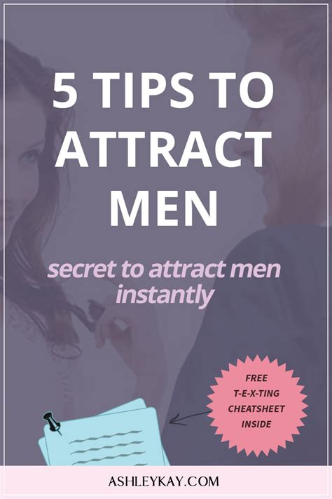 5 Tips To Attract Men  Secret To Attract More Men Instantly  Ashley Kay