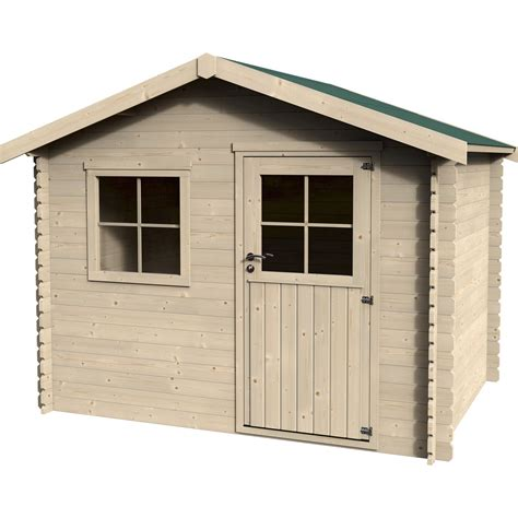 abri de jardin en bois yorton naterial 5 4 m 178 233 p 28 mm leroy merlin