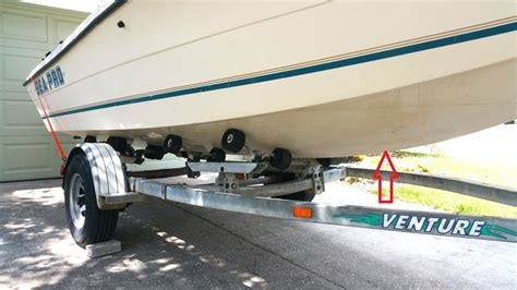 How To Lift A Boat Off The Trailer To Paint by Safely Lift Boat Off Trailer Question The Hull Truth