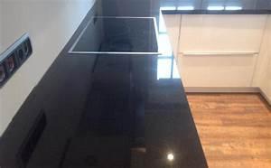 Nero Assoluto Granit : wuppertal nero assoluto granit arbeitsplatte ~ Markanthonyermac.com Haus und Dekorationen