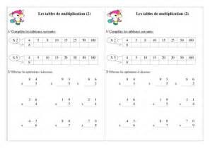 tables de multiplication ce1 exercices calcul cycle 2 pass education