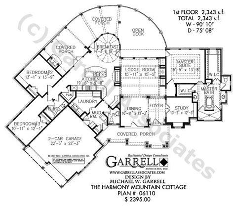harmonious cottages floor plans 1000 ideas about cottage house plans on house