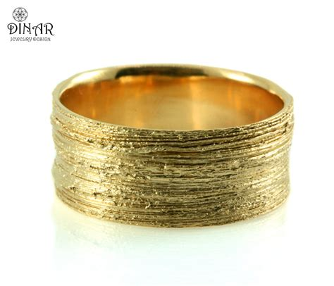 Wide Gold Band Hand Crafted Coral Textured 14k By. Wgu Rings. Amazing Engagement Rings. Mixed Metal Rings. Emerald Wedding Engagement Rings. Gold Chain Rings. Sky Blue Wedding Rings. Genuine Onyx Rings. Fishtail Engagement Rings