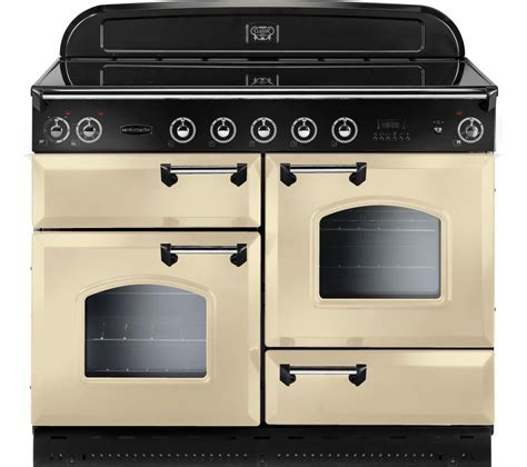 buy rangemaster classic 110 electric induction range cooker chrome free delivery