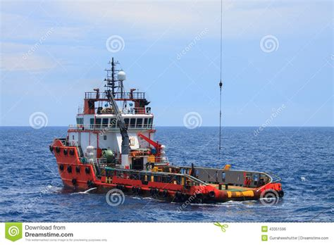 Offshore Crew Boats For Sale by Crew And Supply Vessel Offshore Or Supply Boat Stock