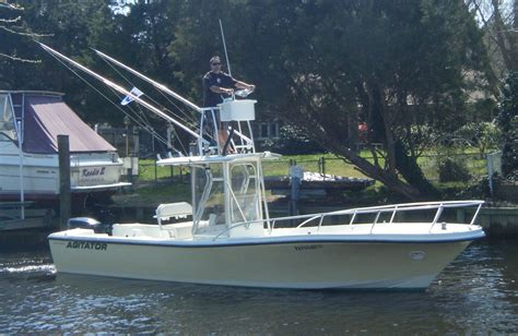 Boat Tower Control Station by Ladder For Upper Station On Center Console The Hull