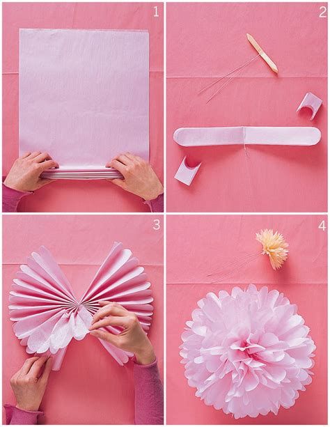 diy or don t tutorial diy tissue paper pom poms