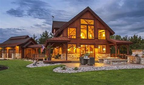 Barn Homes, Post & Beam Houses, & Cabins  Project Gallery
