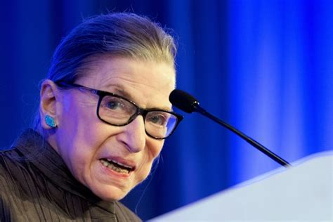 Ginsburg 'up And Working' From Hospital After Injury From