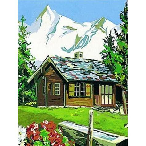canevas chalet 224 la montagne 036 clic