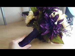 How To Make Your Own Wedding Flower Bouquet ( Real or Fake ...