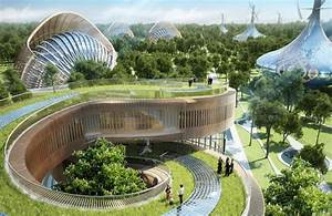 vincent callebaut fills flavours orchard with sculptural ...