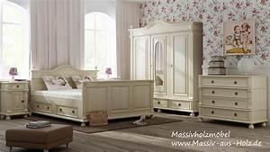 Schlafzimmer Massivholz Landhausstil : kleiderschrank im landhausstil f r ihr schlafzimmer youtube ~ Markanthonyermac.com Haus und Dekorationen