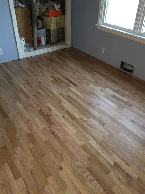 Nampa Red Oak Wood Refinish With Uv  Historical House A