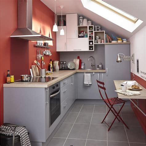meuble de cuisine gris delinia d 233 lice leroy merlin