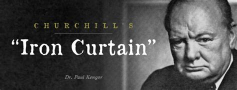 when winston warned america churchill s iron curtain at