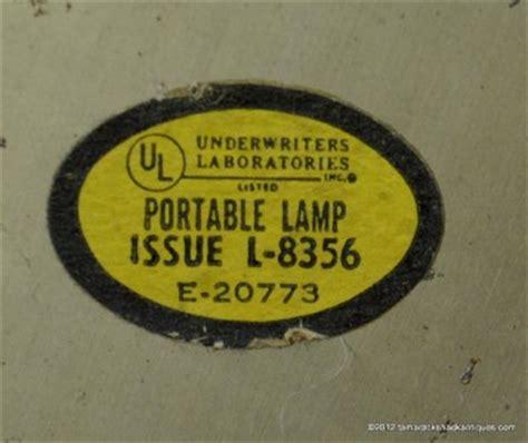 vintage brass underwriters laboratories portable student desk l issue l 8356 ebay