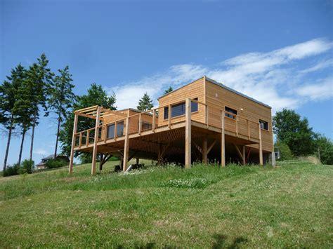 abita maison bois dans l aveyron la maison bois par maisons bois