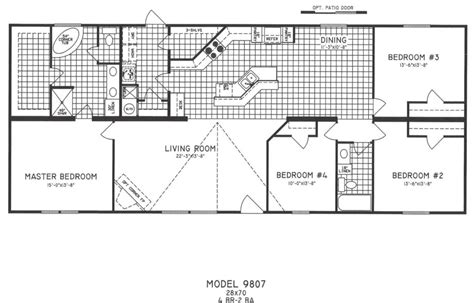 bedroom modular home plans simple floor br also 4 wide mobile interalle