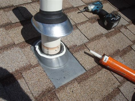 Rubber Boot Roof Jack by How To Repair A Roof Flashing Boot In A Flash Fine