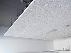 Schallschutz Wohnung Wand : akustik abgeh ngte decke aus holzwolle heradesign by knauf amf italia controsoffitti ~ Markanthonyermac.com Haus und Dekorationen