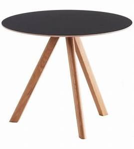Linoleum Für Tischplatte : copenhague round table cph20 tisch mit tischplatte aus linoleum hay milia shop ~ Markanthonyermac.com Haus und Dekorationen
