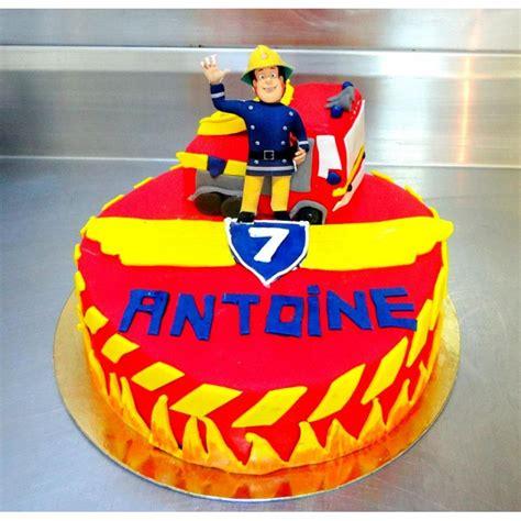 gateau anniversaire sam le pompier accueil design et mobilier
