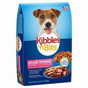 Kibbles 'n Bits Small Breed (Beef and Chicken) - Dry Dog ...