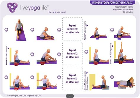 step by step iyengar iyengar and yin sequence