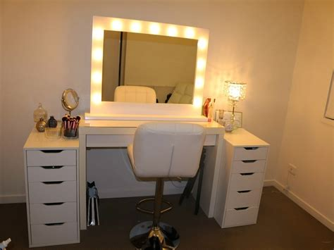 vanity with lights around mirror lightupmyparty lighted makeup mirror 10x home lighting