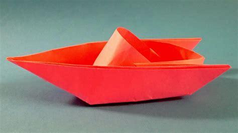 Origami Boat Video by как сделать катер из бумаги оригами катер из бумаги