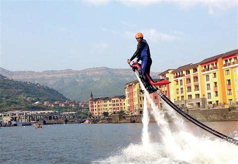 Water Scooter In Mumbai by Adventurous Jetovator Jet Ride At Lavasa Mumbai Travellers