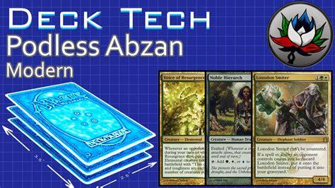 podless abzan aggro modern deck tech mtg