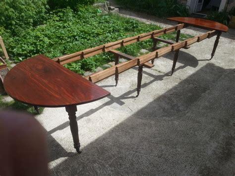 grande table 224 manger en acajou massif epoque restauration 5 allonges magasin brost