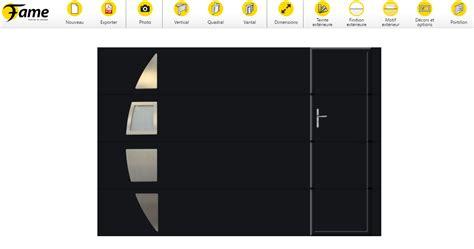 fame lance configurateur un outil ludique pour dessiner sa porte de garage fame le