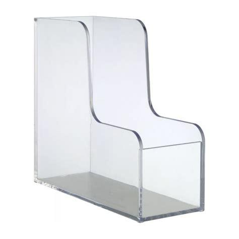 palaset accessoires de bureau transparent acrylique plastique habitat