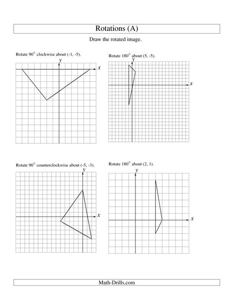 Maths Rotation Worksheets Year 6  1000 Images About Kaleidoscopes On Pinterest Rotational Ks3