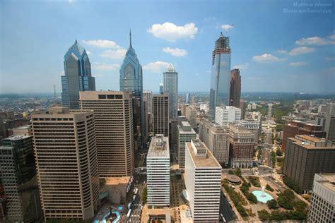 Philadelphia City Observation Deck by Philadelphia Comcast Centric City Observation