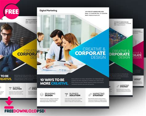 [download]free Business Flyer Template