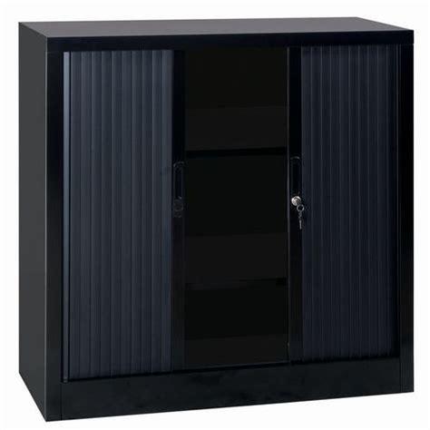 armoire basse 224 rideaux en kit largeur 100 cm manutan fr