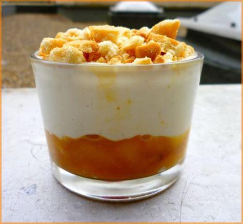 verrines de p 234 ches au yaourt la cuisine de morgane