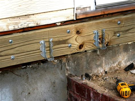 Deck Joist Hangers Or Not by How To Build A Simple Deck Hgtv
