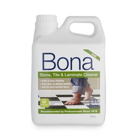 bona tile laminate floor cleaner refill 2 5l