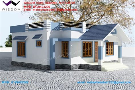 2 Bhk Home Design In India : Kerala Home Design & House Plans