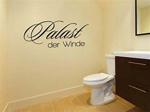 Wandtattoo Wc Sprüche : palast der winde wandtattoo wc wandaufkleber g nstig by wall art design ~ Markanthonyermac.com Haus und Dekorationen